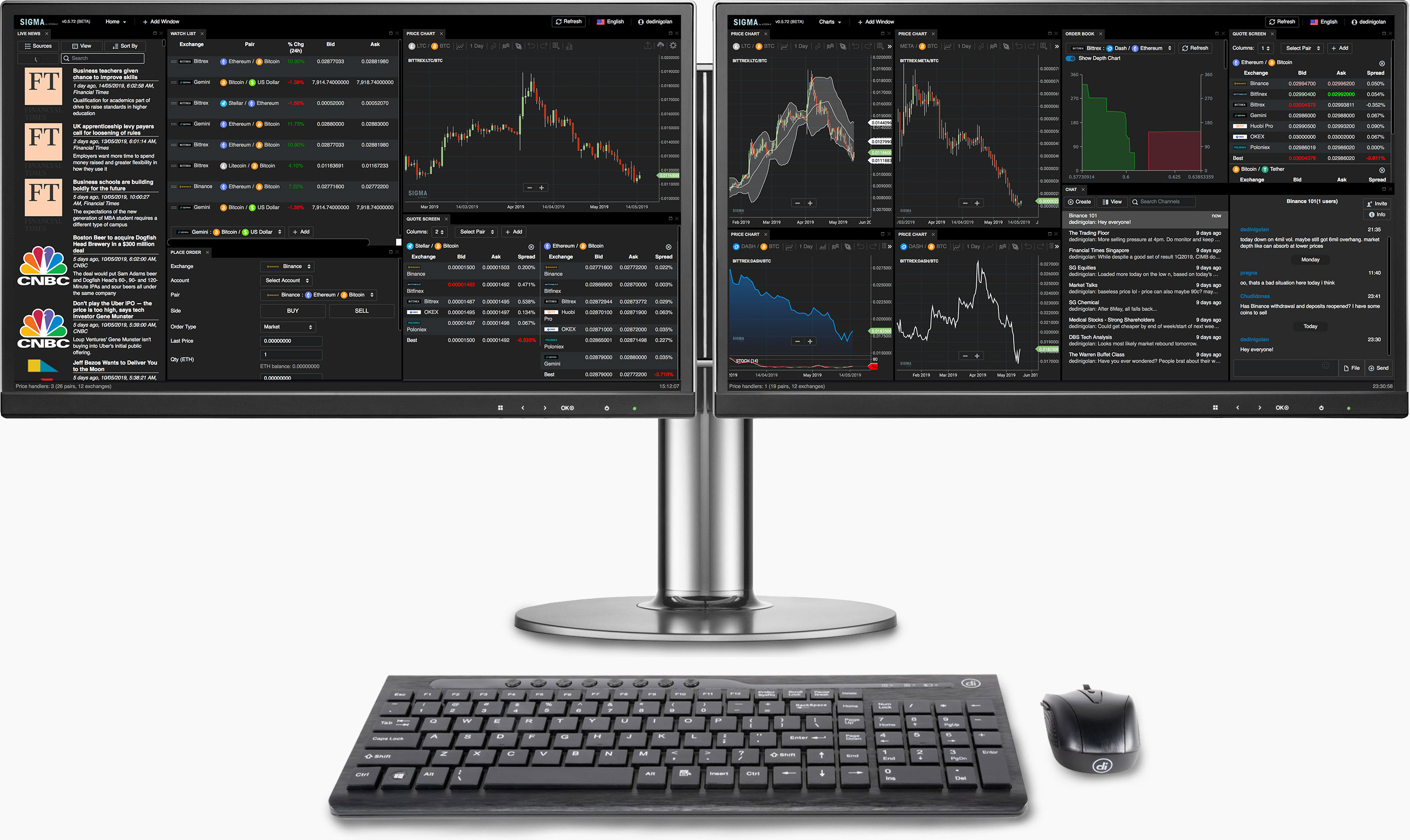 Hydra X - Customised Front-end Trading Solutions